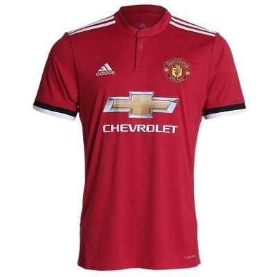 Camisa Adidas Manchester United I 2017/2018 Torcedor Vermelha Masculina