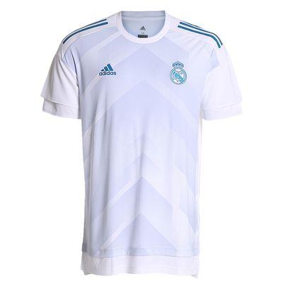 Camisa Adidas Real Madrid 2017/2018 H Preshi Branca Masculina