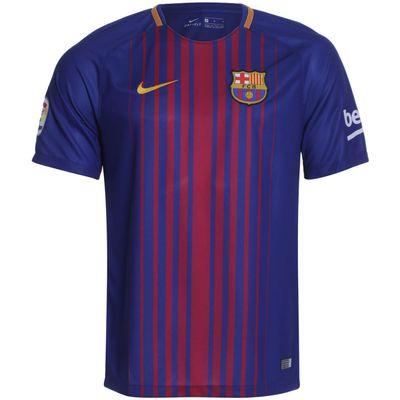 Camisa Nike Barcelona 2017/2018 I Torcedor Azul Masculina