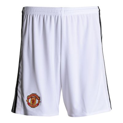 Calção Adidas Manchester United I 2017/2018 Branco Masculino