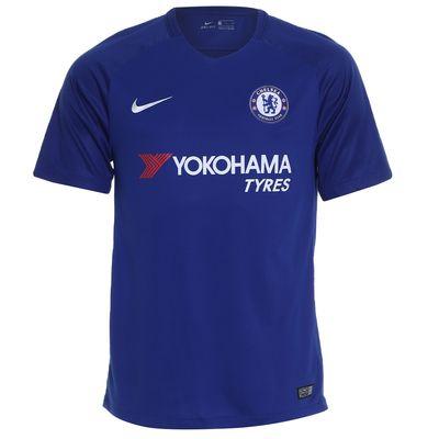 Camisa Nike Chelsea 2017/2018 Torcedor Azul Masculina