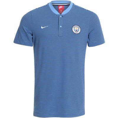 Camisa Nike Manchester City 2017/2018 Modern Azul Masculina