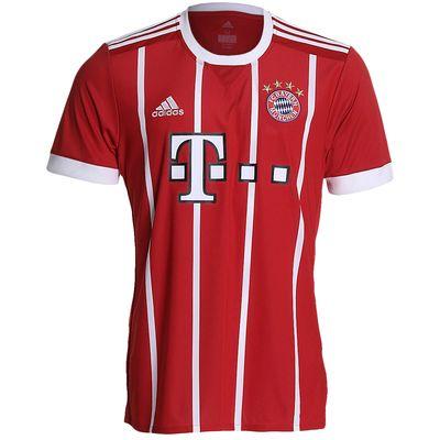 Camisa Adidas Bayern de Munique I 2017/2018 Vermelha Masculina