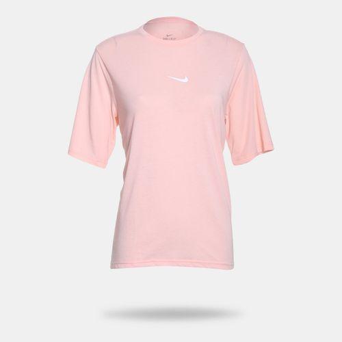 Camiseta Nike Dri-Fit Rosa Feminina Rosa e Branco - Gaston - Paqueta  Esportes 4f66aa31f3b