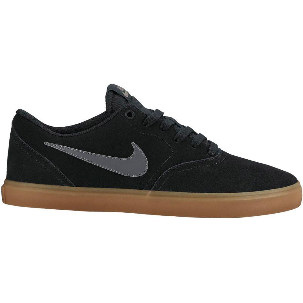 Tênis Nike SB Check Solar Preto - Gaston - Paqueta Calçados 67fa2b7ae3d8e