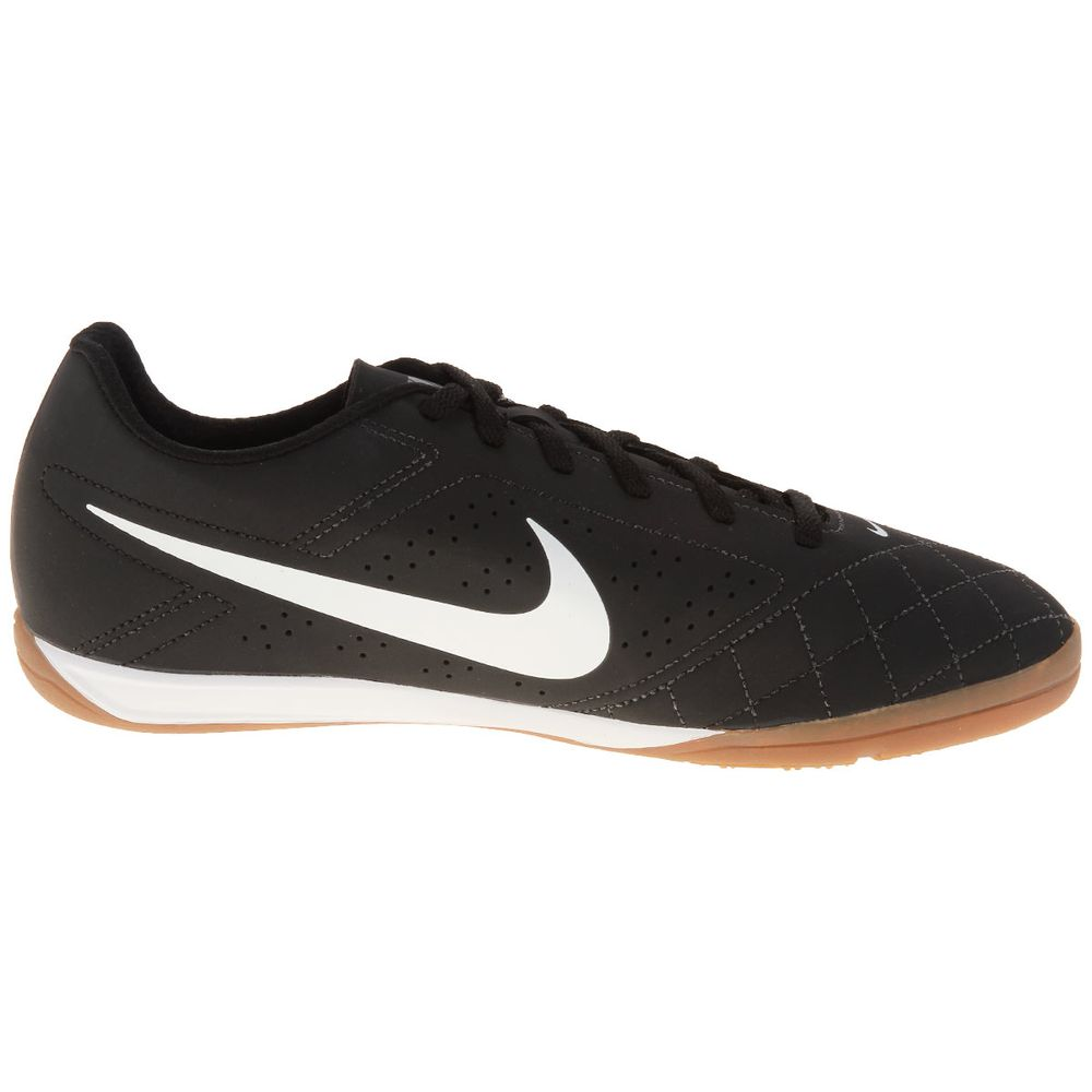 56a6824141 Chuteira Futsal Nike Beco 2 Preto e Branco - Gaston - Paqueta Esportes