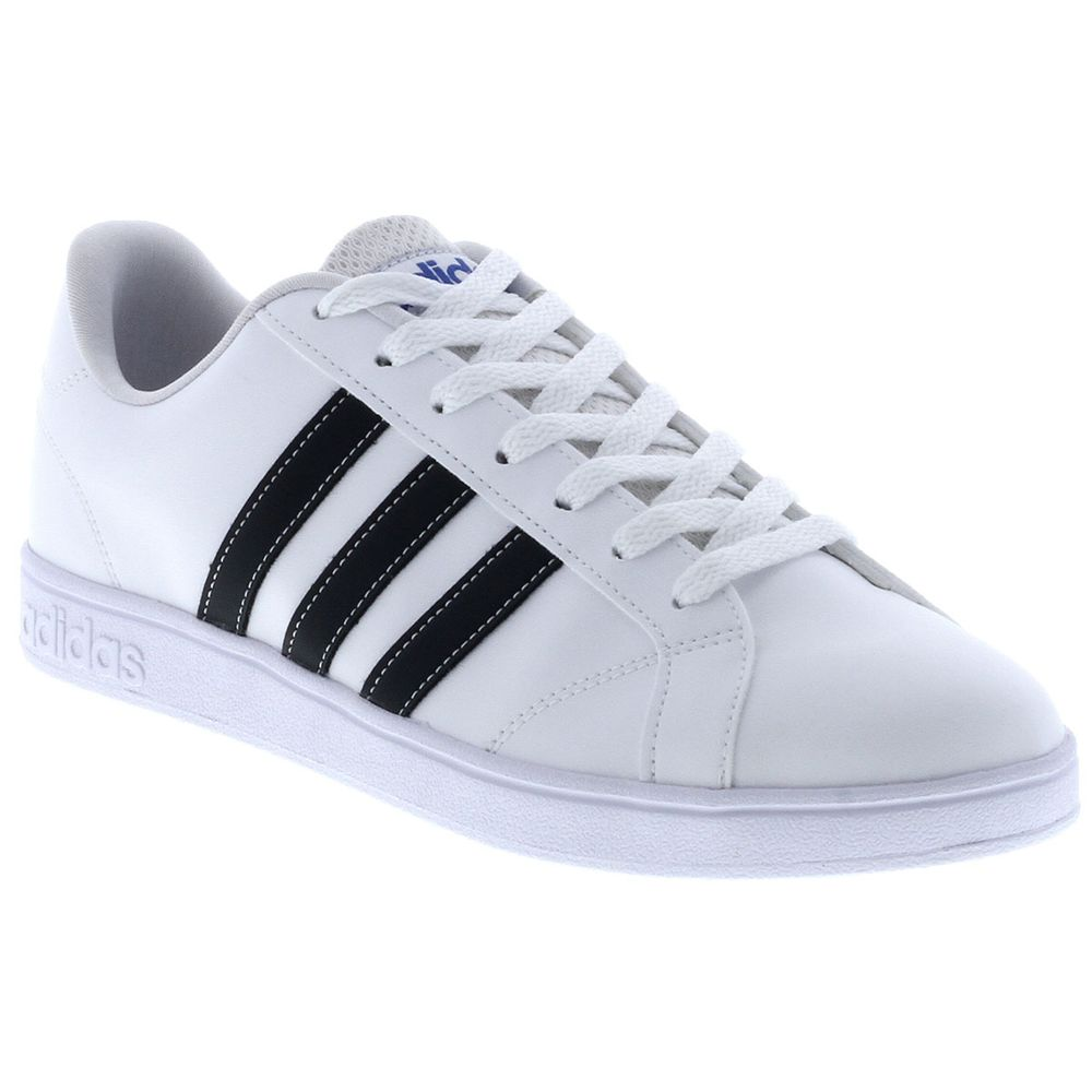 7c54e201be7 Tênis Adidas Advantage VS Branco Masculino Branco - Gaston - Paqueta ...