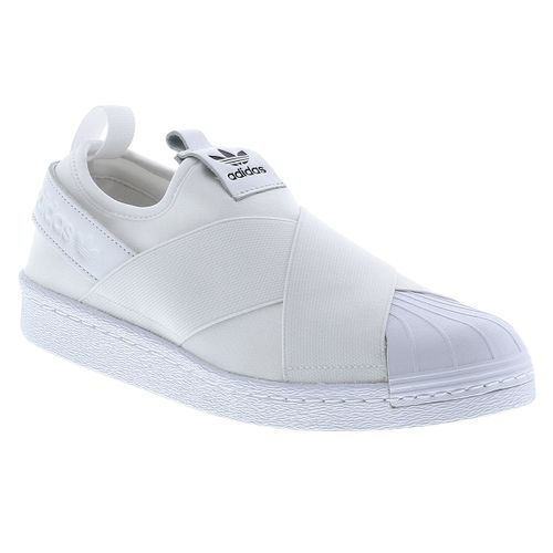 5853652e76a Tênis Adidas Superstar Slip On Originals Branco Feminino