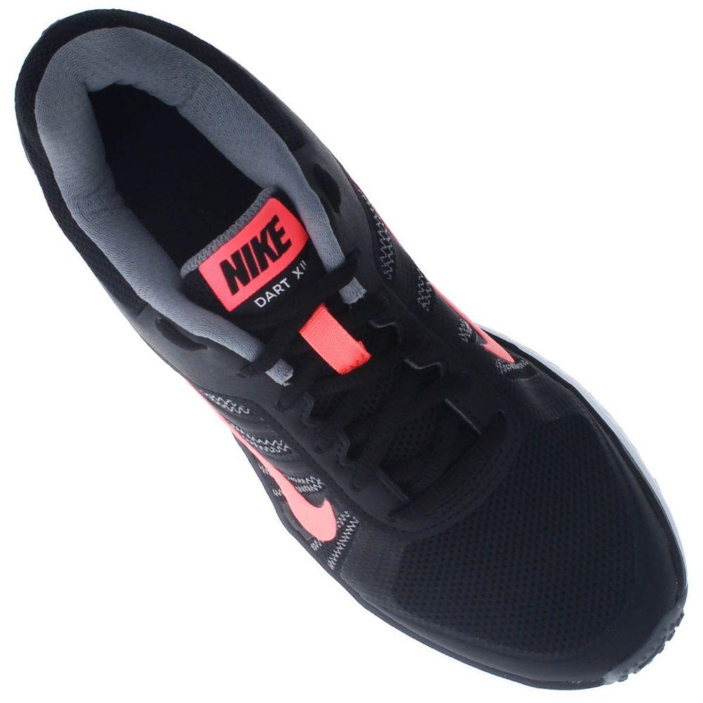 38d61598dc5 Tênis Nike Dart 12 Feminino Preto - Gaston - Paqueta Calçados
