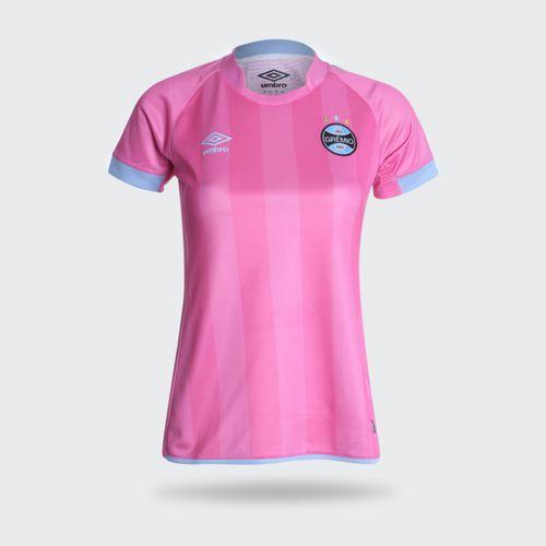 Camisa Umbro Grêmio 2017 Outubro Rosa Feminina