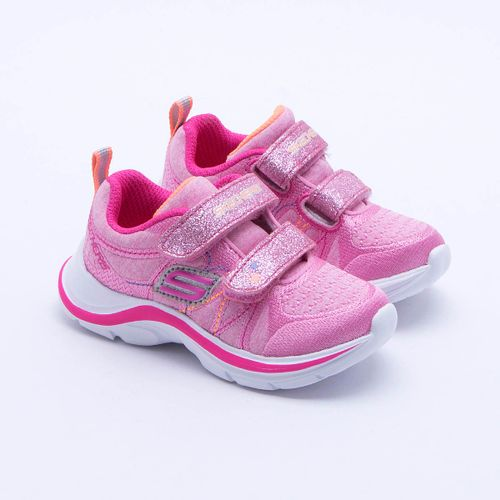 Tênis Skechers Swift Kicks Infantil Rosa