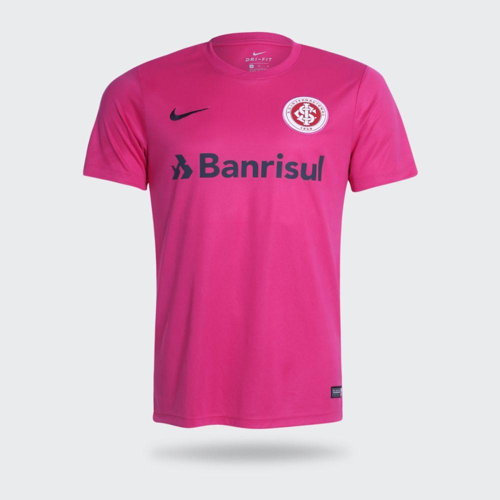 Camisa Nike Internacional 2017 Outubro Rosa Masculina Rosa - Gaston ... 12719dd71b13f