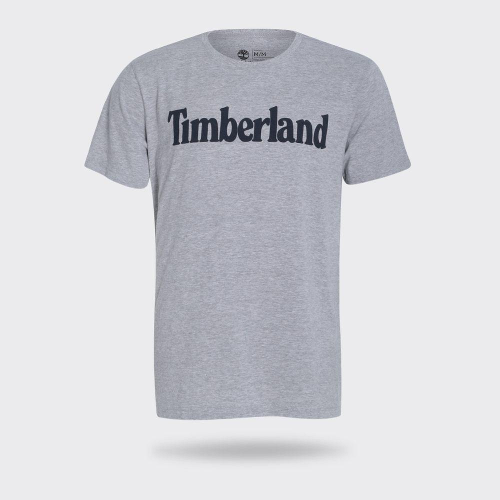 Camiseta Timberland Logo Mescla Masculina Mescla - Gaston - Paqueta ... 338ff67f84766