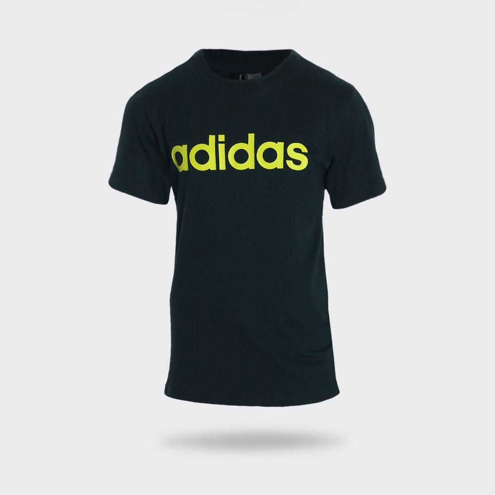 07fbd38218 Camiseta Adidas Logo Verde Infantil Verde - Gaston - Paqueta Esportes