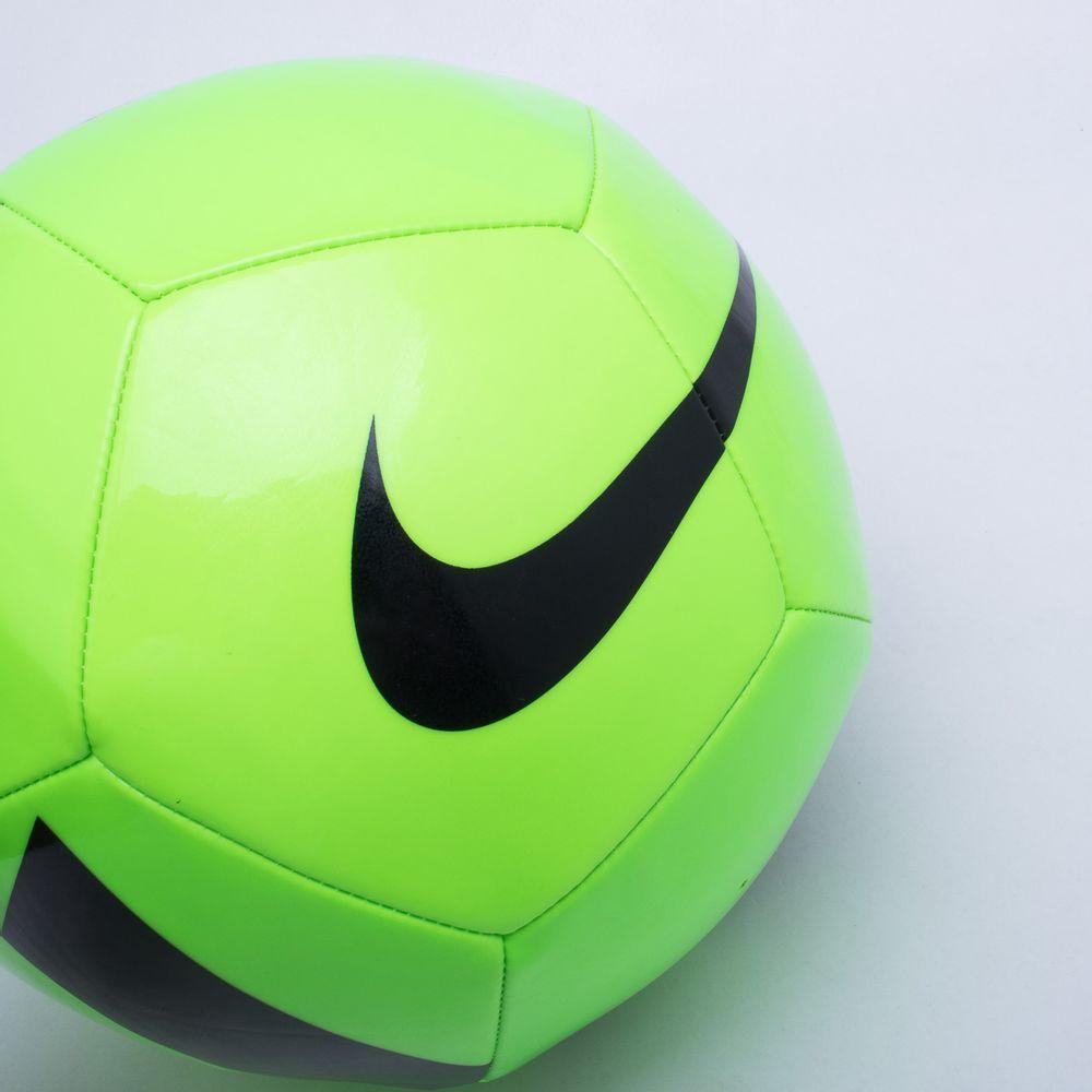 820429fb8b Bola Futebol Campo Nike Pitch Team Verde e Preto - Gaston - Gaston