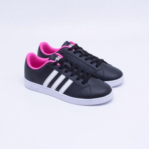 bd95d6e95e6 Tênis Adidas Vs Advantage Preto Feminino