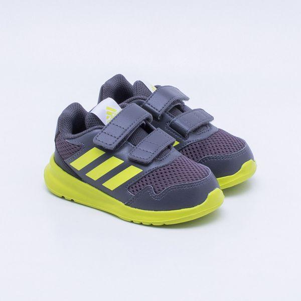fc7fd3a6c20 Tênis Adidas Altarun Infantil Cinza