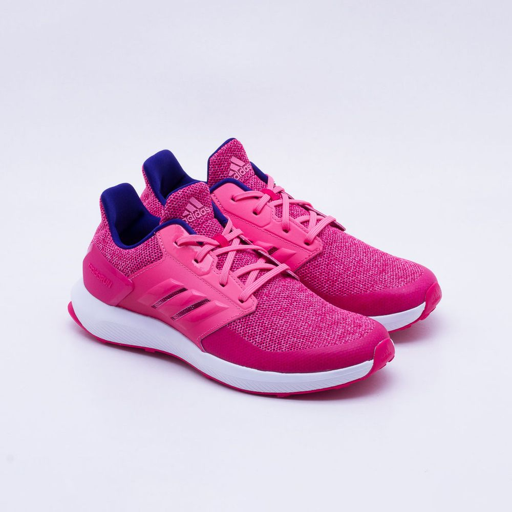e42d3ceaba Tênis Adidas Rapidarun Infantil Rosa Rosa - Gaston - Paqueta Esportes