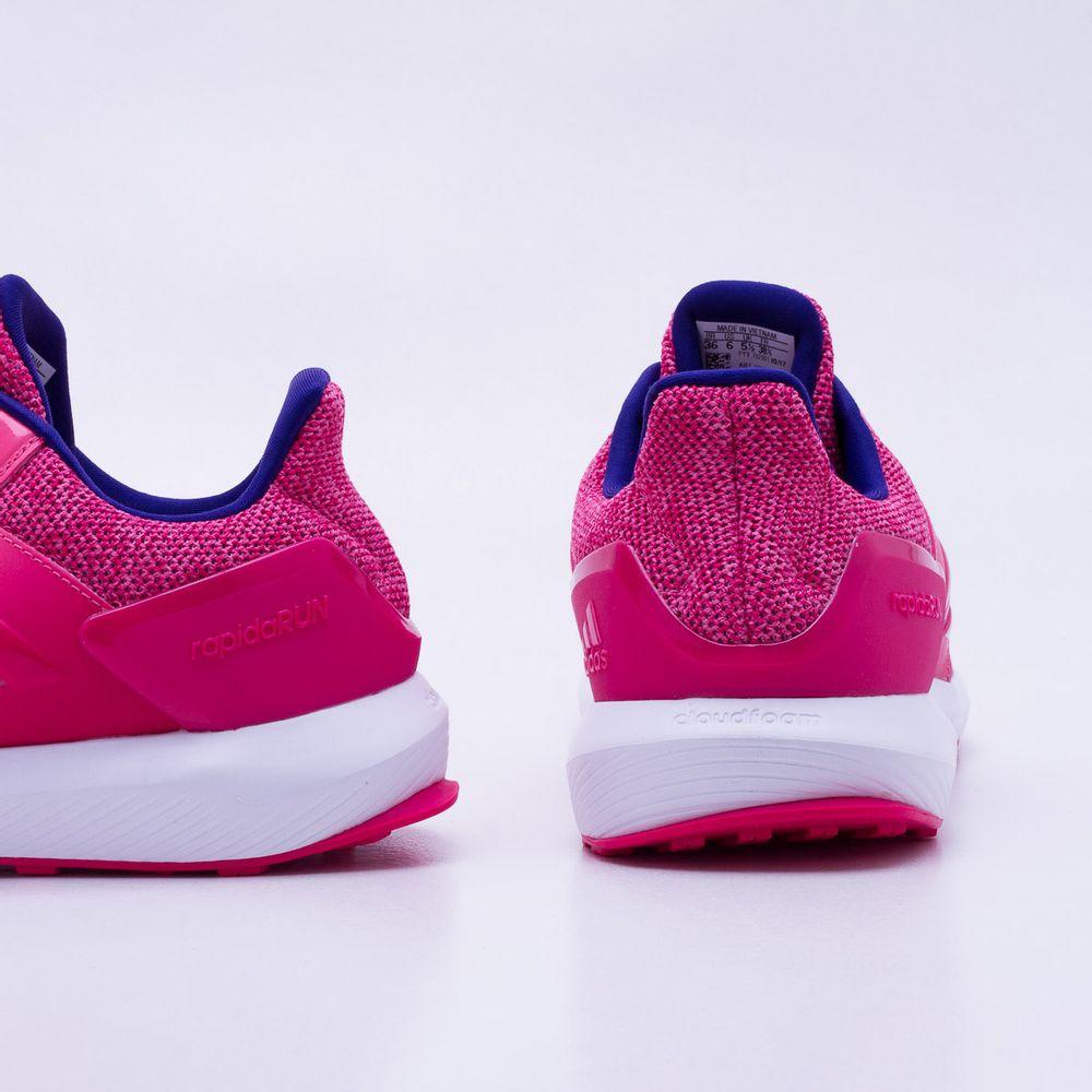 df4372ca3ce Tênis Adidas Rapidarun Infantil Rosa Rosa - Gaston - Paqueta Esportes