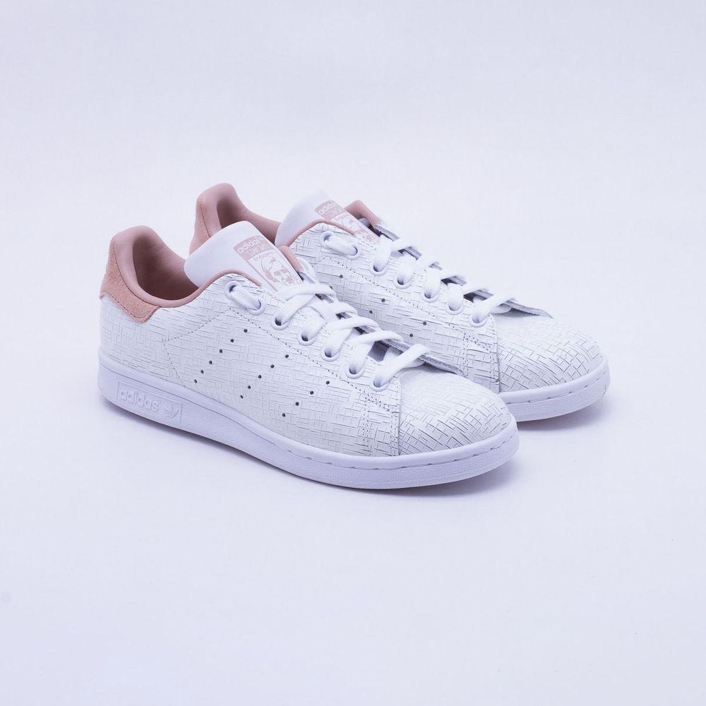 Tênis Adidas Stan Smith Originals Branco Feminino Branco - Gaston ... 1b746c78c67c4