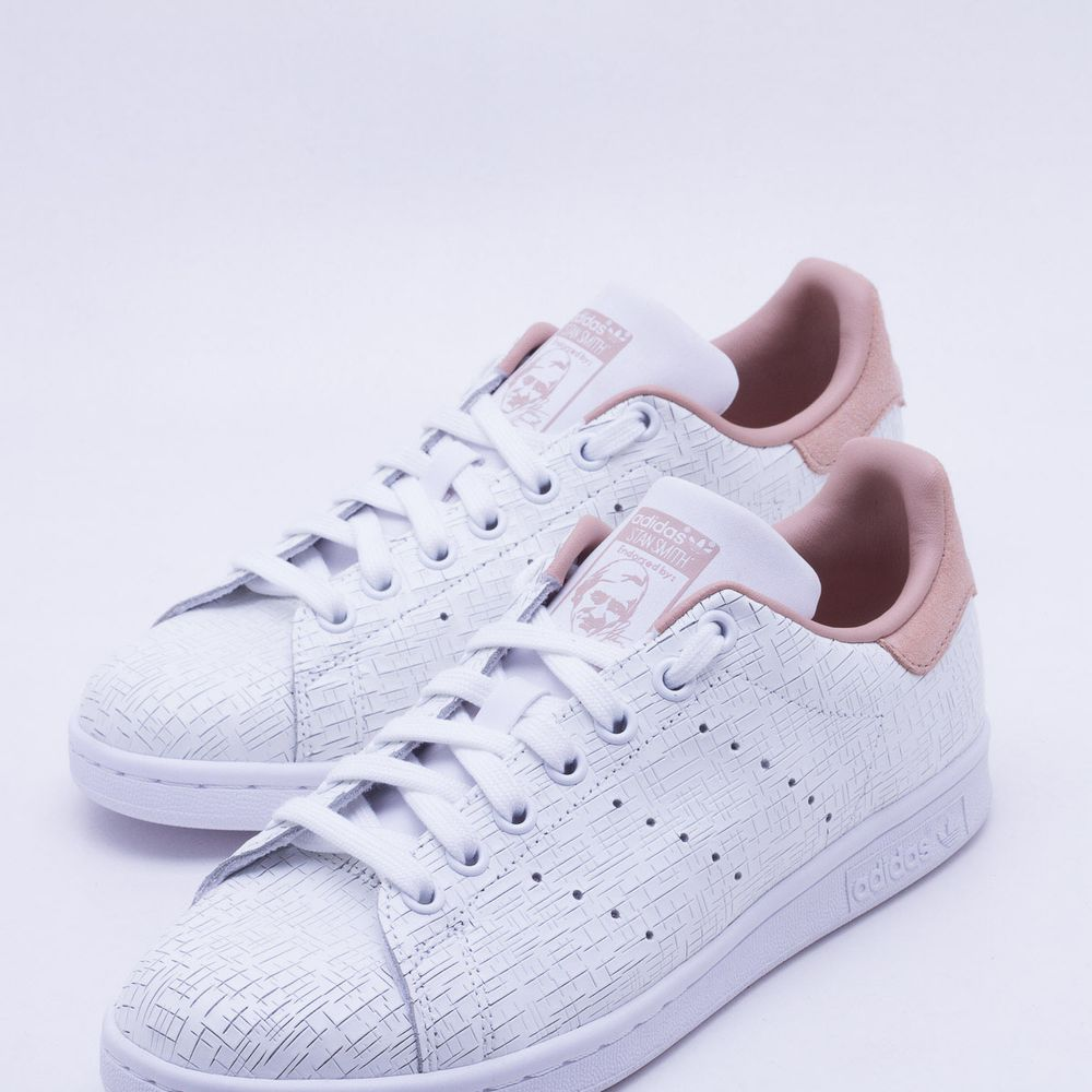 39ccea316c6 Tênis Adidas Stan Smith Originals Branco Feminino Branco - Gaston ...