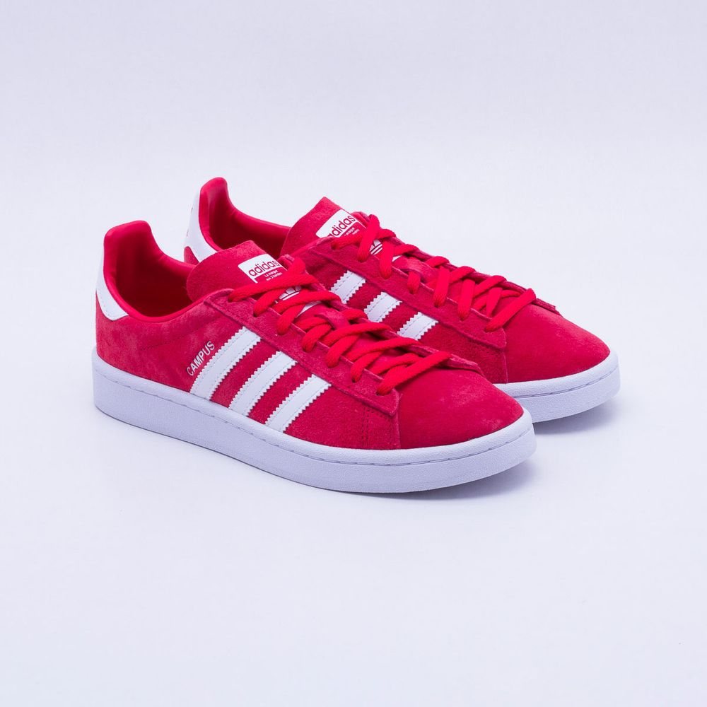 28019c4c86b Tênis Adidas Campus Originals Vermelho Feminino Vermelho - Gaston ...