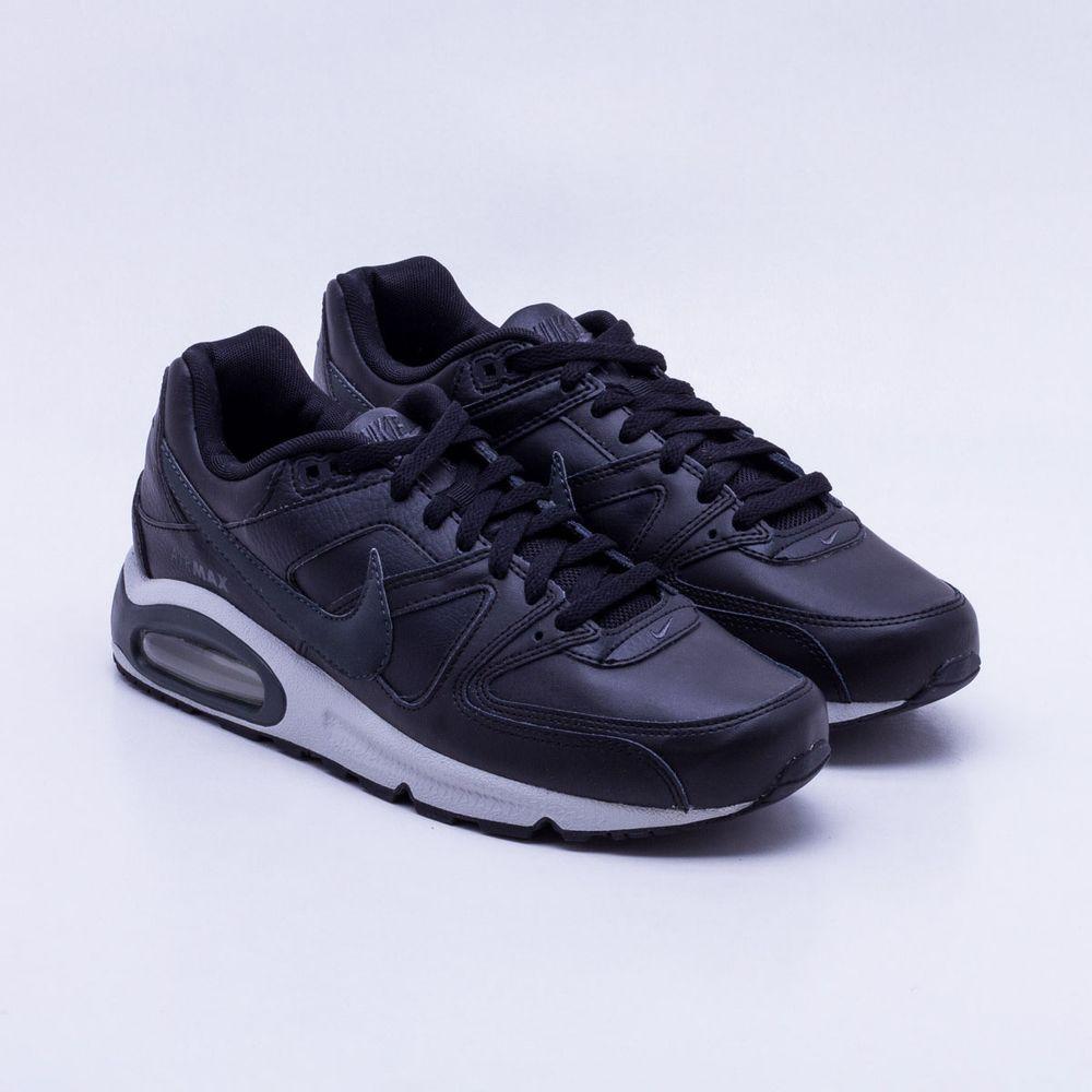 Tênis Nike Air Max Command Leather Preto Masculino Preto - Gaston ... 32edf11007220
