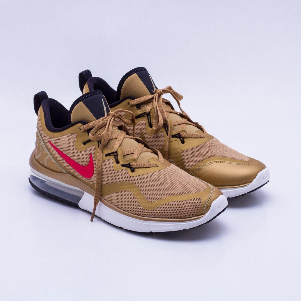 30f0dea2815f3 Tênis Nike Air Max Fury Masculino Dourado - Gaston - Paqueta Esportes