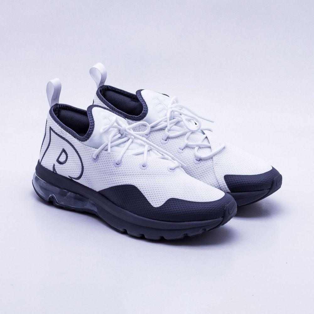 Tênis Nike Air Max Flair 50 Masculino Branco e Cinza - Gaston ... fb5e177dc0c37