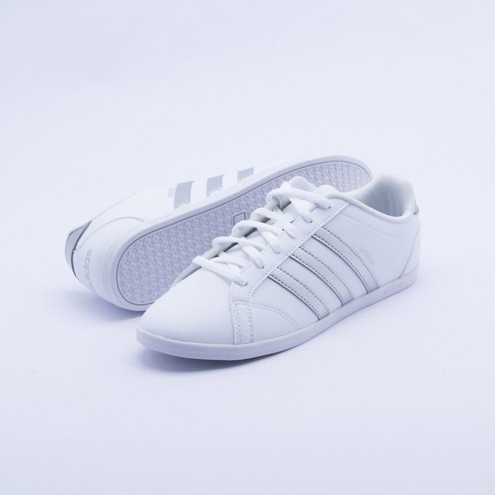 Tênis Adidas VS Coneo QT Branco Feminino Branco - Gaston - Paqueta Esportes 87ea60d2be4d4