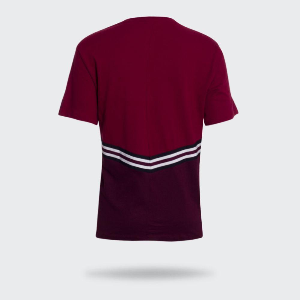 4e8e5937ac Camiseta Adidas Adibreak Bordô Feminina Bordô - Gaston - Paqueta ...