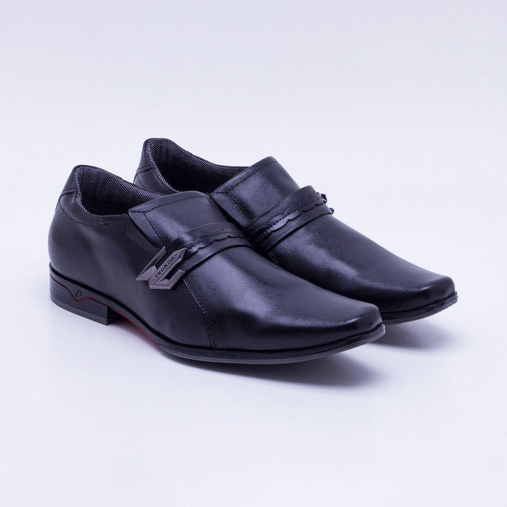 8b4bb82b5 Sapato Social Pegada Preto Masculino Preto - Gaston - Gaston