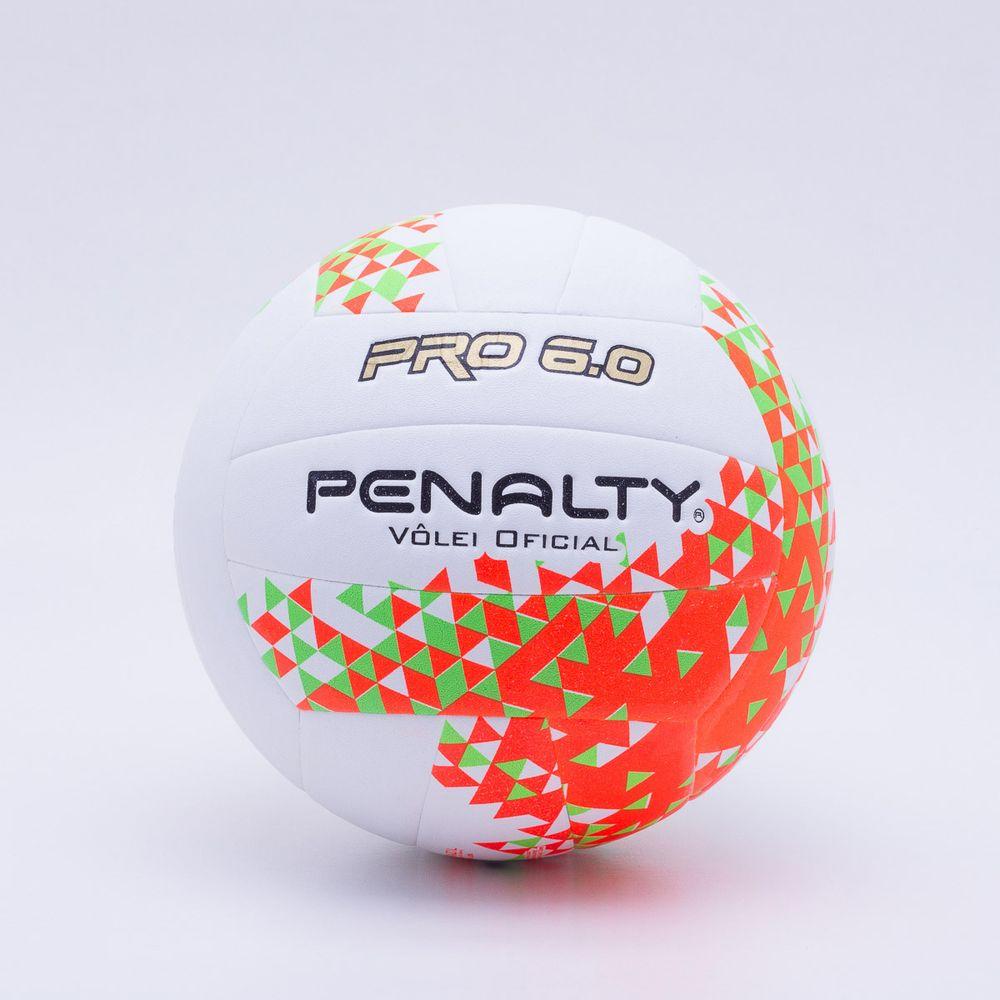 Bola Vôlei Penalty Pro 6.0 VIII Branco e Laranja - Gaston - Paqueta ... dbc318e734737