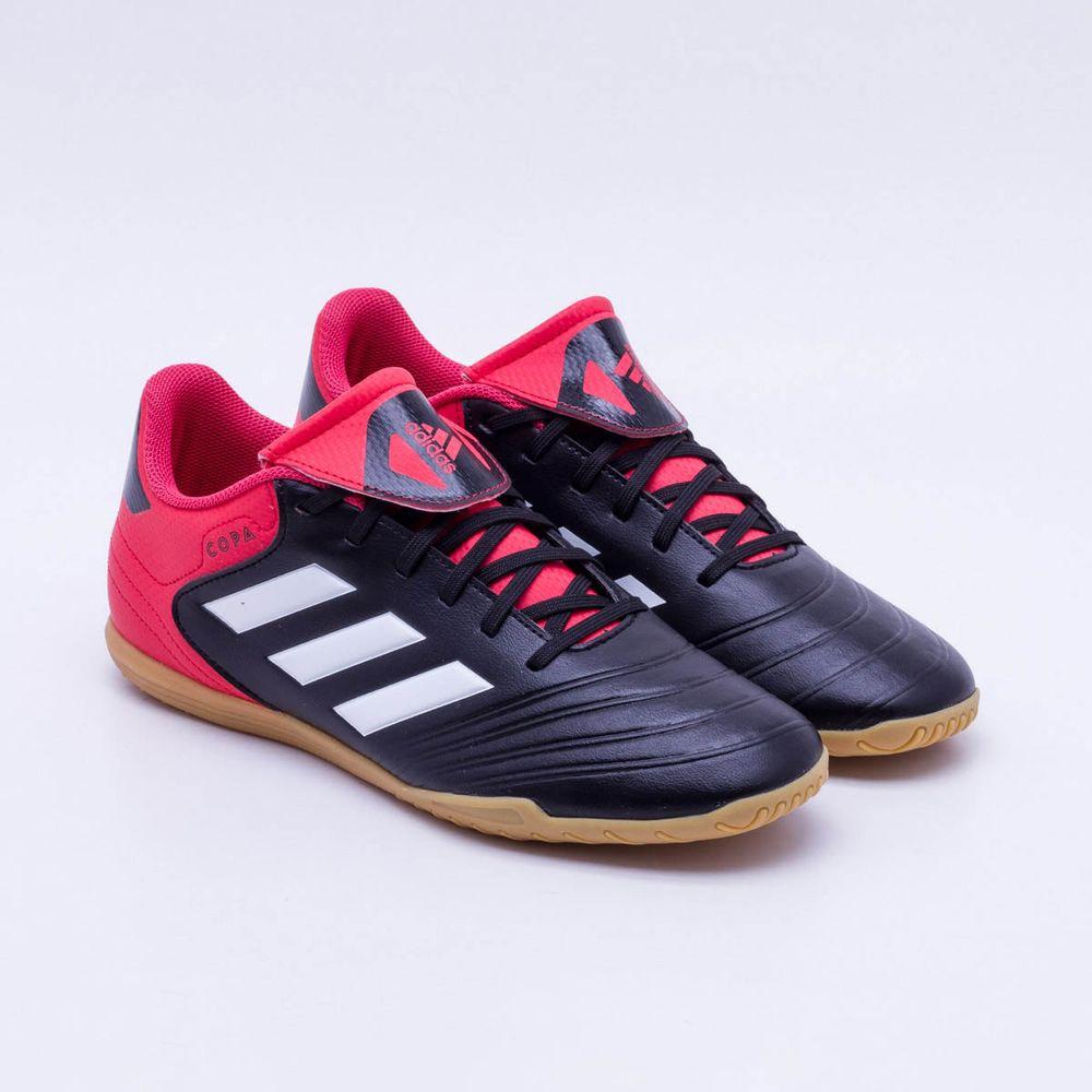 5fe36b1722 ... Chuteira Futsal Adidas Copa 18.4 Preto e Vermelho - Gaston - new list  9309f 43b23  ADIDAS X TANGO 18.4 ...