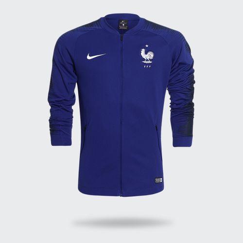 Jaqueta Nike França Anthem Marinho Masculina f0fa4f8726ab2
