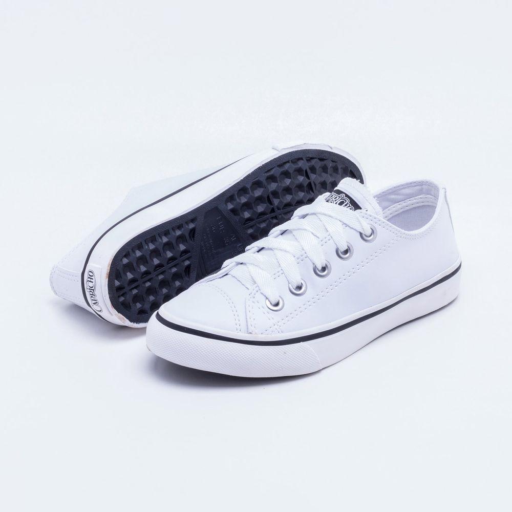 fb5277acfd Tênis Capricho Shoes Like Branco Branco - Gaston - Paqueta Calçados