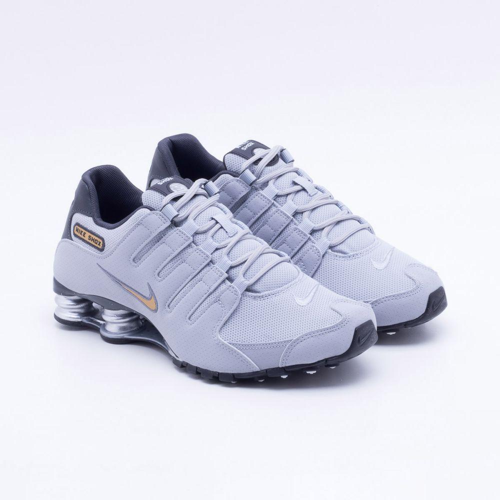 Tênis Nike Shox NZ Cinza Masculino Cinza - Gaston - Paqueta Esportes f58c9e8b7cbd8