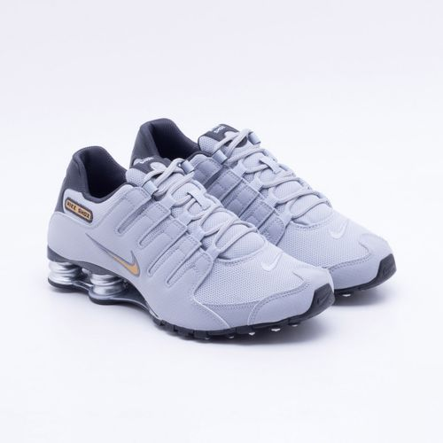Tênis Nike Shox NZ Cinza Masculino 8f5b824150931