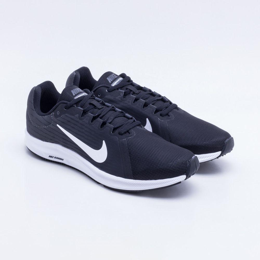 Tênis Nike Downshifter 8 Masculino Preto - Gaston - Paqueta Esportes 114e40eb49885
