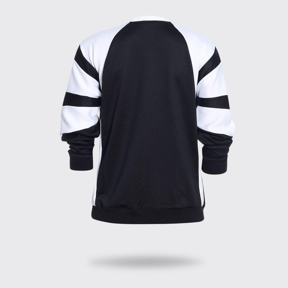 edba66f8f9 Blusão Adidas EQT Originals Preto Feminino Preto e Branco - Gaston ...