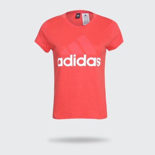 Camiseta Adidas MC ES LI SL Tee Coral Feminina db1f93dca9544