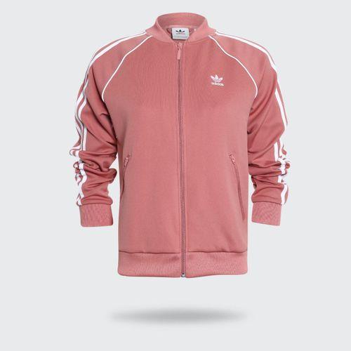 f7007662f47 Jaqueta Adidas SST Originals Rosa Feminina