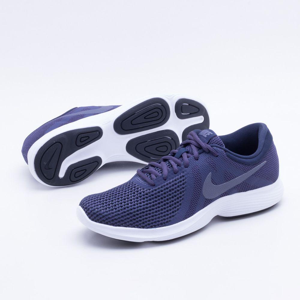 71a5d701e Tênis Nike Revolution 4 Masculino Azul - Gaston - Paqueta Esportes