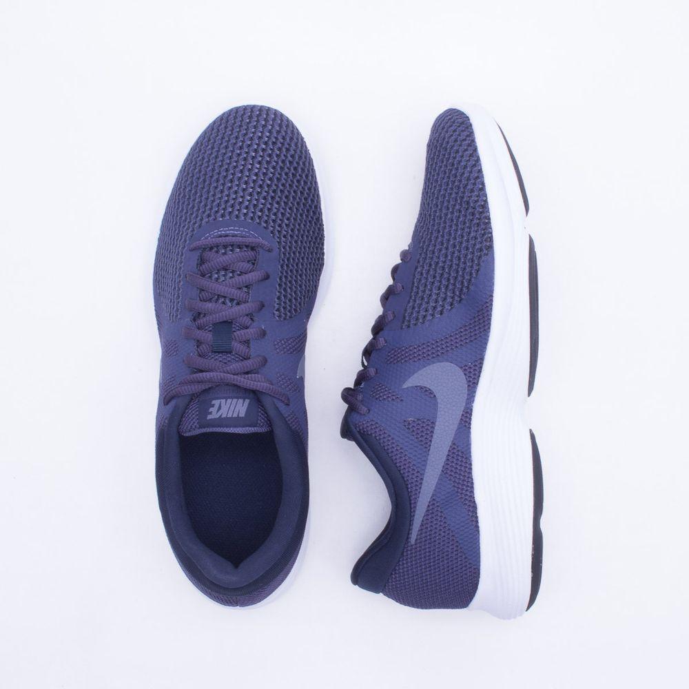 dd0792f3a7c Tênis Nike Revolution 4 Masculino Azul - Gaston - Paqueta Esportes