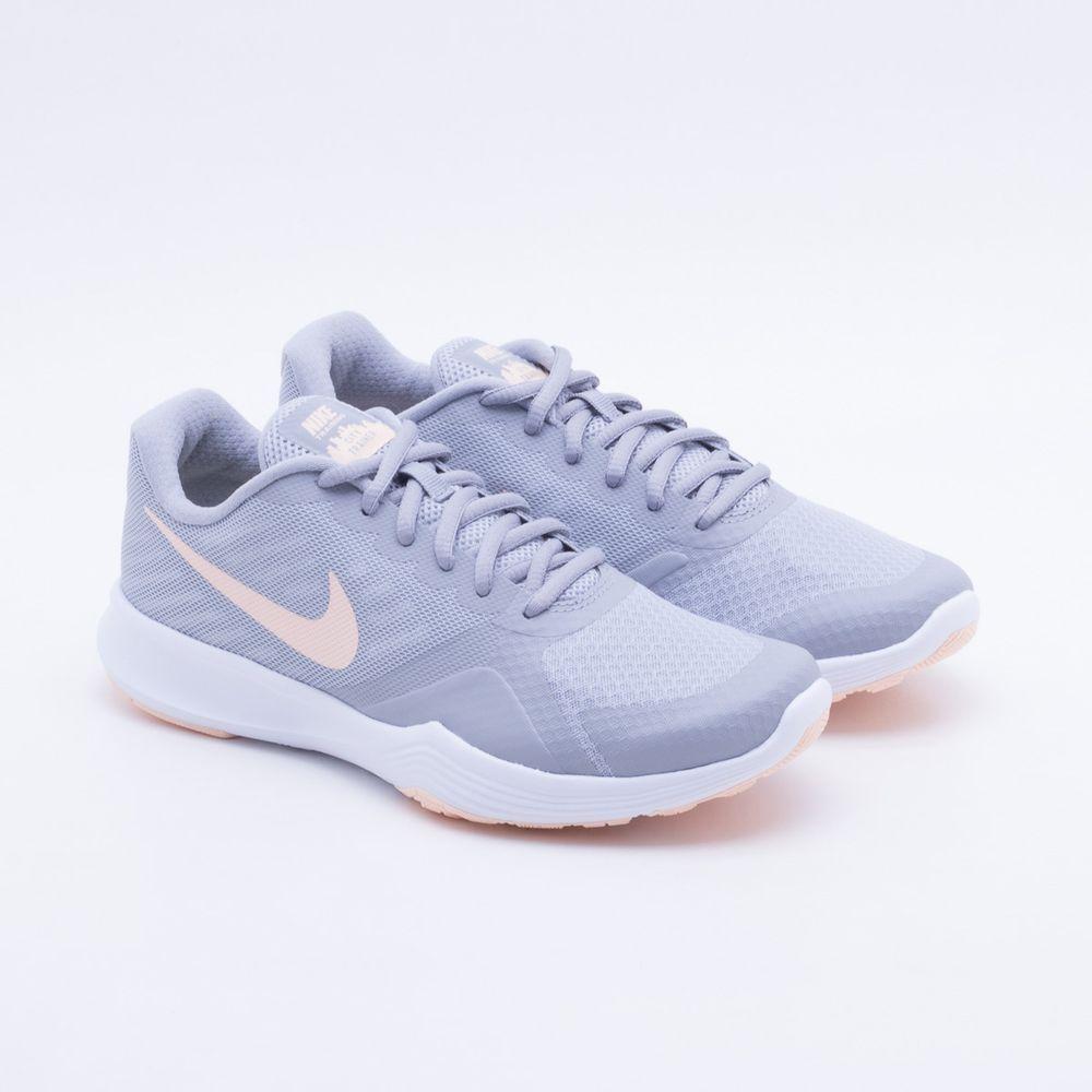 Tênis Nike City Trainer Feminino Cinza Claro - Gaston - Paqueta Esportes 5593c09ec9ccd