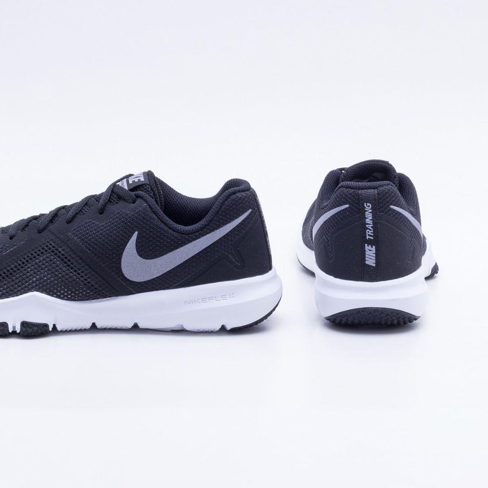 1cd95179235 Tênis Nike Flex Control II Masculino Preto e Branco - Gaston ...