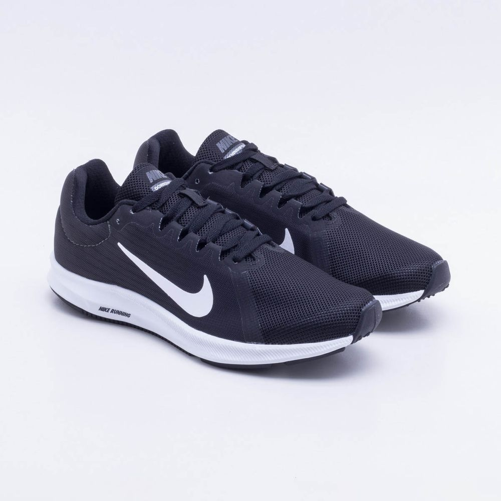 info for 34c1c a5439 Tênis Nike Downshifter 8 Feminino Preto e Branco - Gaston -