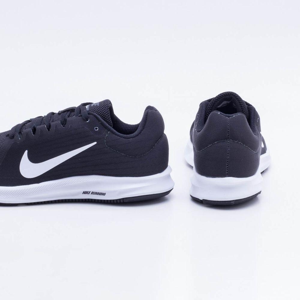 db5b3494d Tênis Nike Downshifter 8 Feminino Preto e Branco - Gaston - Paqueta ...