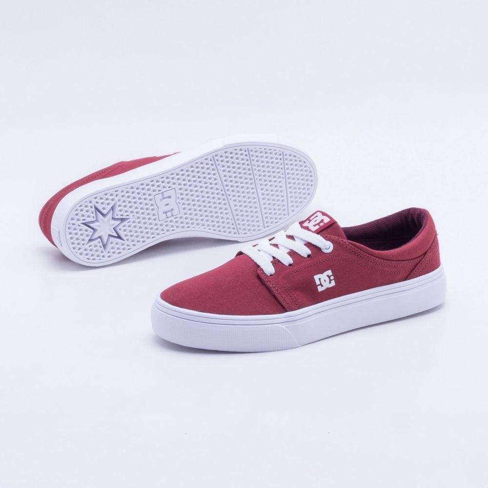 62ffbc7c28 Tênis DC Shoes Trase TX W Vermelho Feminino Vermelho - Gaston ...