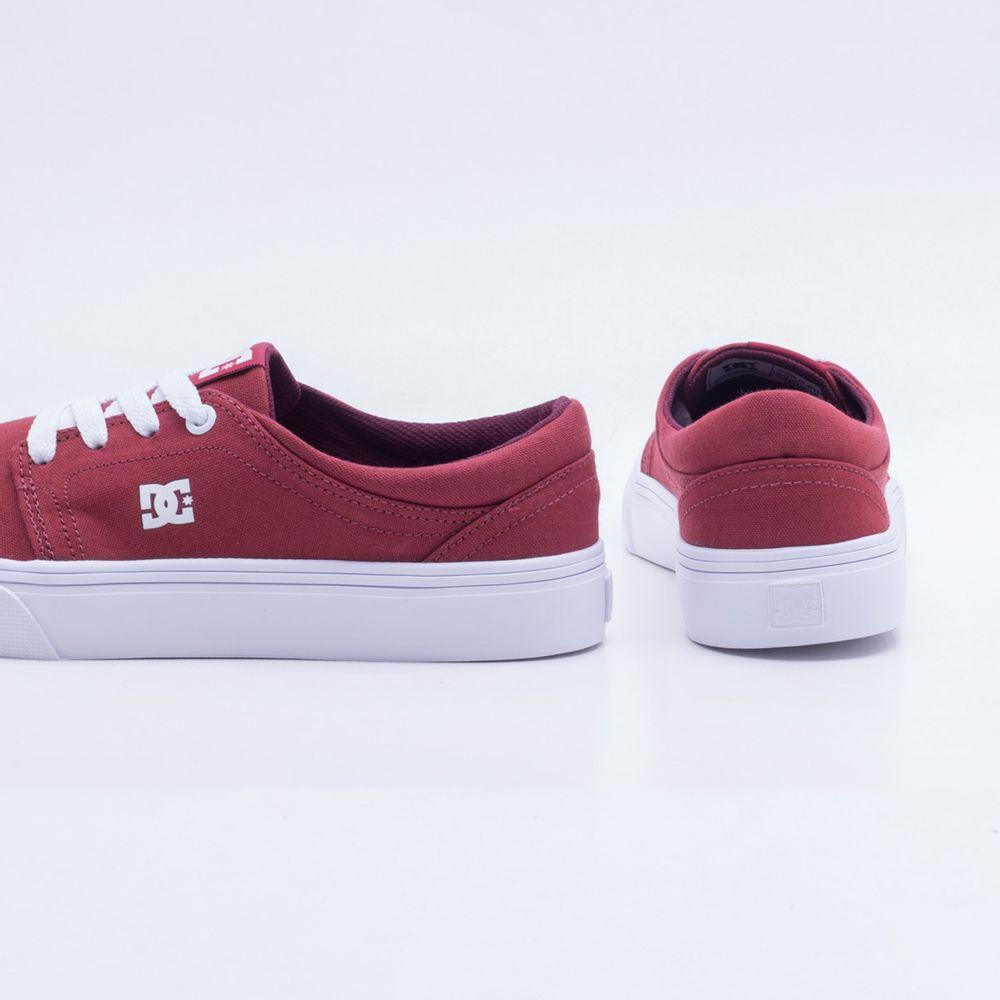 8639de7d624a5 Tênis DC Shoes Trase TX W Vermelho Feminino Vermelho - Gaston ...